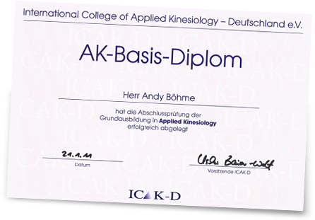 Andy Böhme – AK-Basis-Diplom